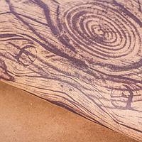 "Бумага подарочная крафт ""Дерево"", 50х70 см, фото 1"