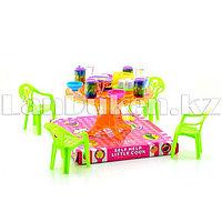 Игровой набор кукольной мебели (обеденный стол)
