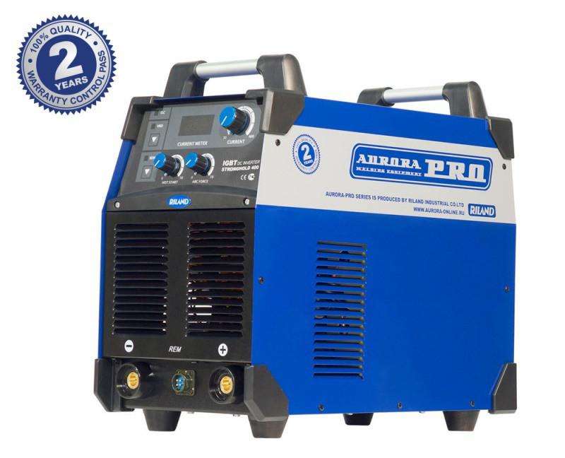 Индустриальный сварочный инвертор AuroraPRO STRONGHOLD 400