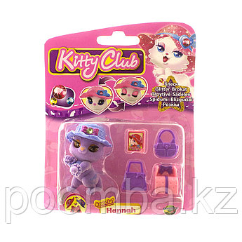 Фигурка Kitty Club «Hannah» с аксессуарами