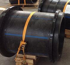 Втулка удлиненная сварная ПЭ100 SDR11 Ду710