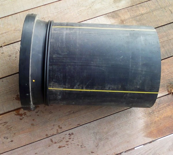 Втулка удлиненная сварная ПЭ100 SDR21 Ду125