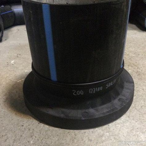 Втулка удлиненная сварная ПЭ100 SDR21 Ду200, фото 2