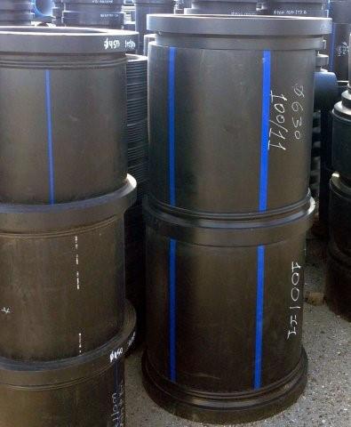 Втулка удлиненная сварная ПЭ100 SDR26 Ду630