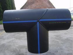 Тройник 90° равнопроходной сварной ПЭ100 SDR21 Ду225, фото 2