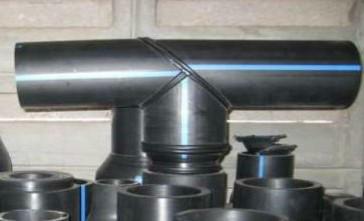 Тройник 90° равнопроходной сварной ПЭ100 SDR26 Ду160