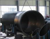 Отвод 45° сварной ПЭ100 SDR21 Ду900 (3-х секц.)