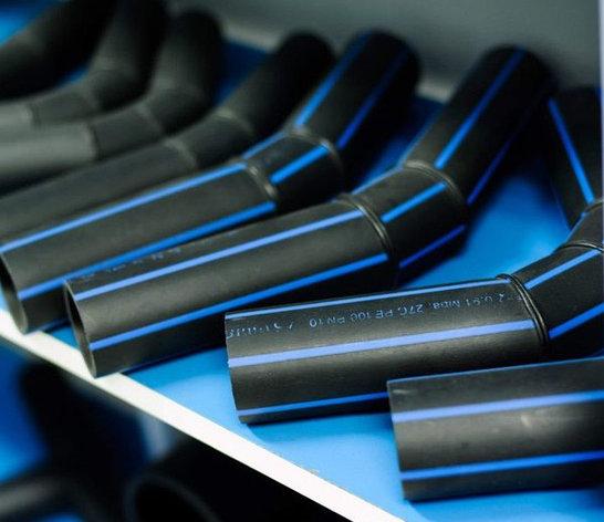 Отвод 60° сварной ПЭ100 SDR11 Ду50 (3-х секц.), фото 2