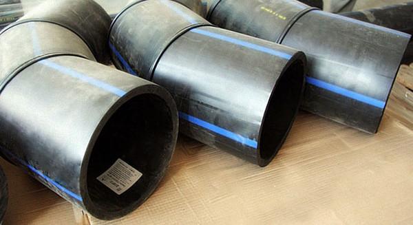 Отвод 60° сварной ПЭ100 SDR13,6 Ду450 (3-х секц.)