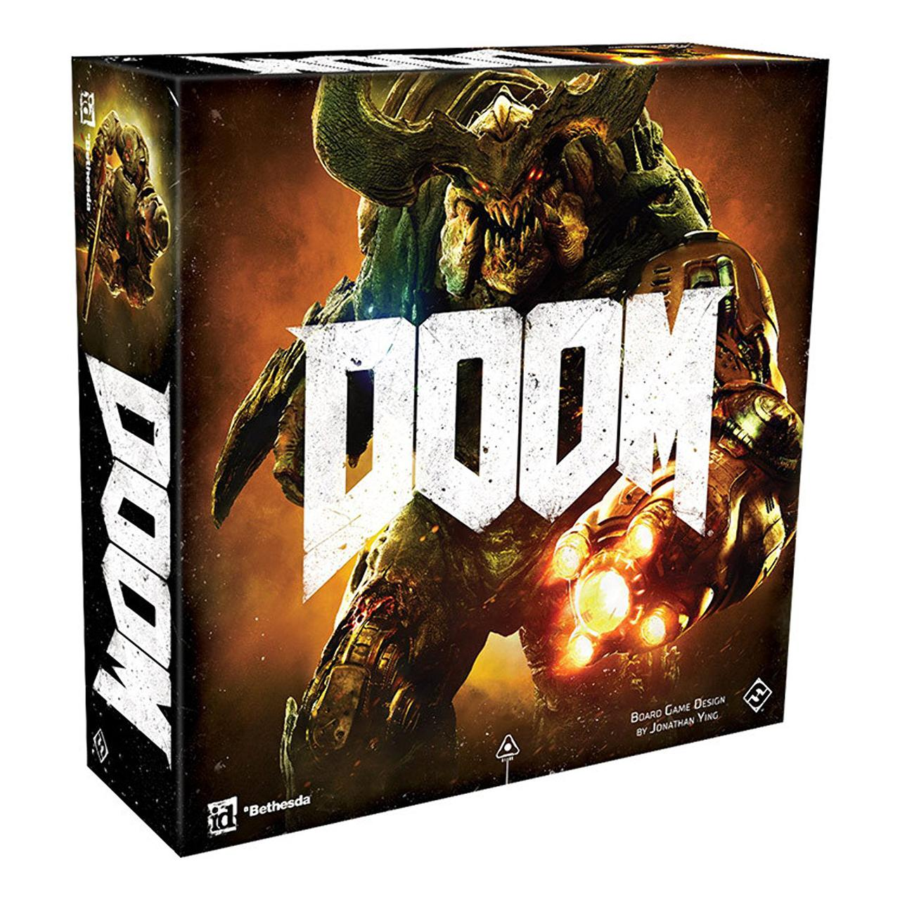 Настольная игра: Doom: The Board Game Second Edition