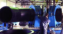 Отвод 90° сварной ПЭ100 SDR11 Ду710 (4-х секц.)