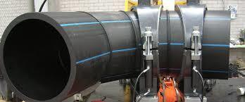 Отвод 90° сварной ПЭ100 SDR17 Ду630 (4-х секц.)