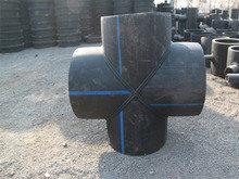 Крестовина 90° сварная ПЭ100 SDR17 Ду400, фото 2