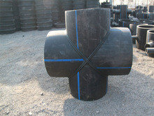 Крестовина 90° сварная ПЭ100 SDR21 Ду355, фото 2