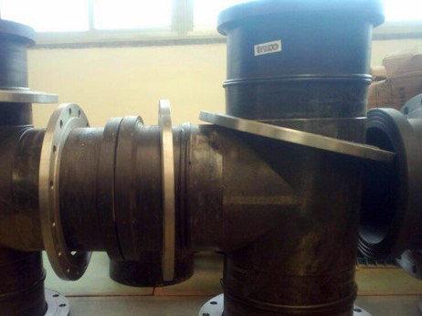 Тройник литой ПЭ100 SDR11 Ду225, фото 2