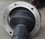 Переход литой ПЭ100 удлиненный SDR11 Ду225*110