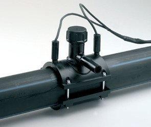 Седелка электросварная ПЭ100 SDR11 ДУ250х063 (Для врезки под давлением), фото 2