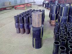 Неразъемное соединение полиэтилен-сталь ПЭ100 SDR11 Ду 315*273