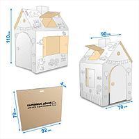 Картонный домик для детей, фото 1