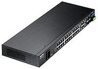 Коммутатор ZyXEL MES3500-24 24-порт L2+ Metro Fast Ethernet 4 порта Gigabit Ethernet с SFP-слотами