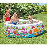 "Детский бассейн ""Океанский риф"" 191х178х61 см, Intex 56493"