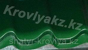 Металлочерепица Монтеррей (RaLL 6005 глянец - зеленый)