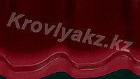 Металлочерепица Монтеррей (RaLL 3005 глянец - бордовый), фото 1