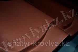 Металлочерепица Монтеррей (RaLL 8017 глянец - шоколадный)