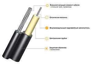 Оптический кабель ИК/T...Т... подвесной с внешним тросом