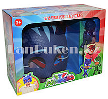 Набор детская маска и фигурка 9 см Герои в Масках Кэтбой