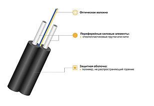 Оптический кабель ИКН/Д2-Т-А1-0,3 дроп кабель