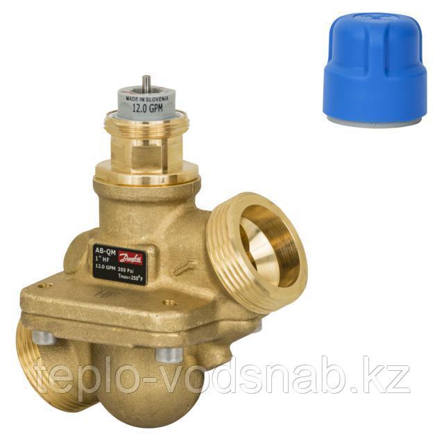 Клапан автоматический AB-QM Ду20 комбинированный балансировочный с измерительными ниппелями