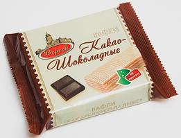 Вафли Какао-Шоколадные на фруктозе 60г.