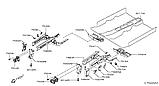 Кронштейн усилителя переднего бампера левый для Nissan Juke (F15) (Тумба), фото 2
