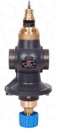 Клапан автоматический AB-QM Ду40 комбинированный балансировочный с измерительными ниппелями, фото 2