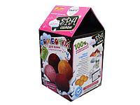 Бомбочки для ванной Шоколадный десерт