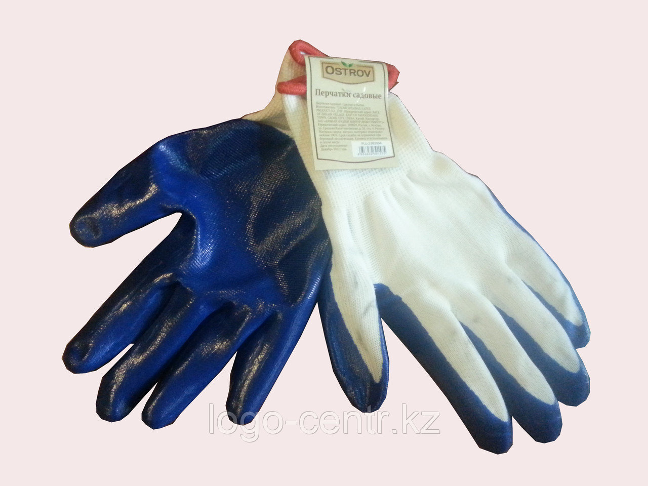 Перчатки х/б  size 10