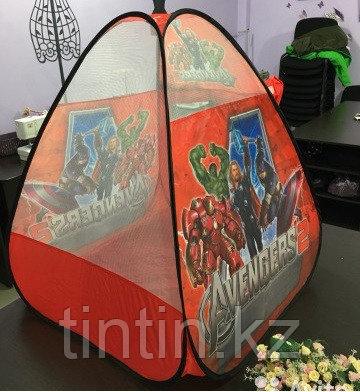 """Детская палатка домик """"Мстители"""" 75х75х100см, 1022B-1, фото 2"""