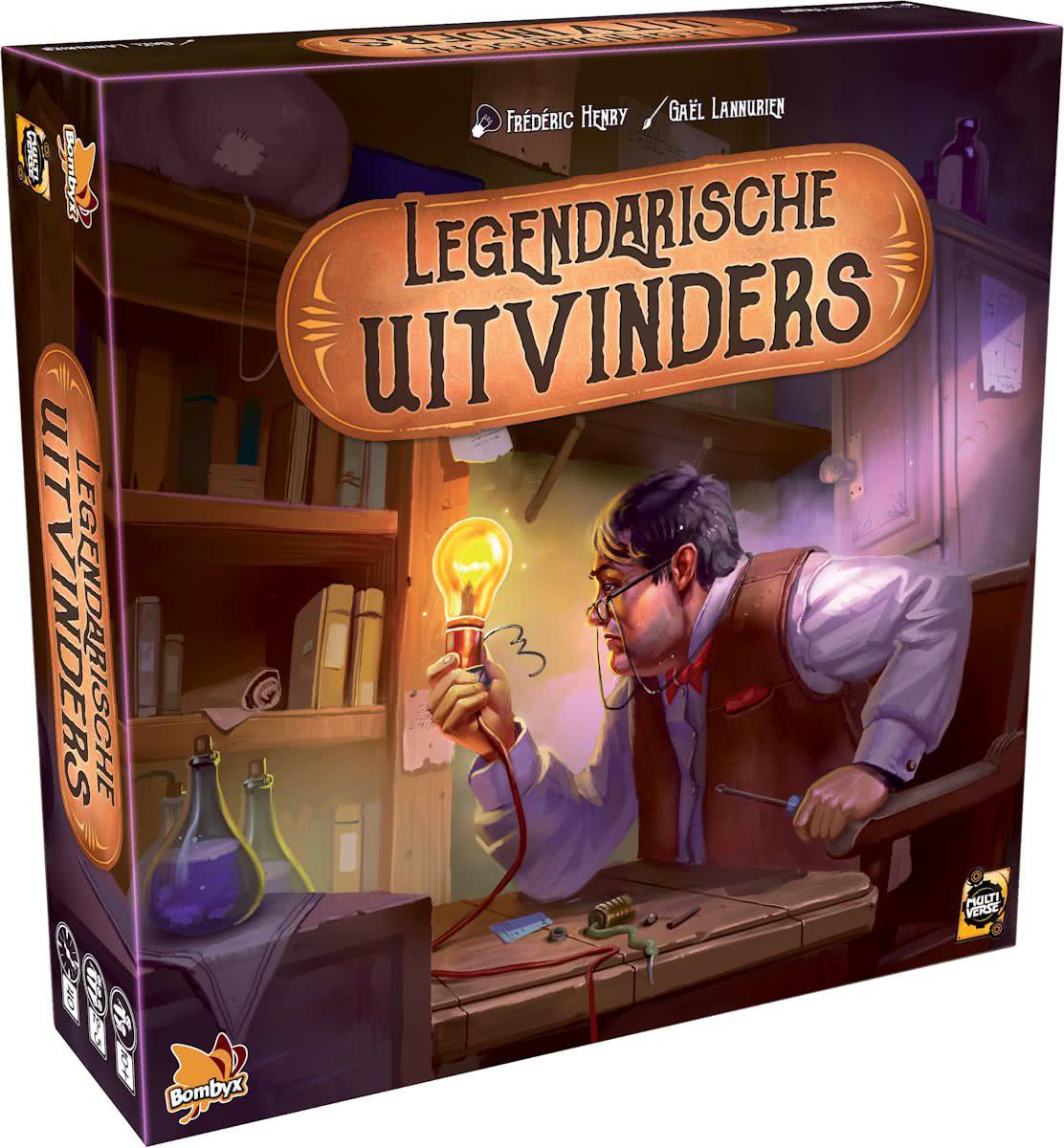 Настольная игра: Легендарные Изобретатели