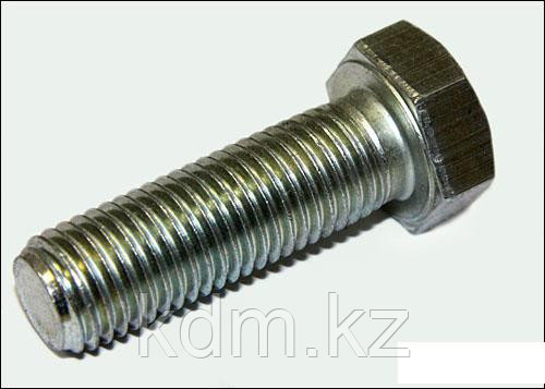 Болт М10*80  DIN 933 кл. 8,8 оц
