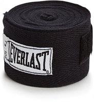 Боксерский бинт Everlast черный 2 штуки 3.5 м