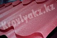 """Металлочерепица Монтеррей (полимерное покрытие"""" Sun matt"""") 3004 КРАСНЫЙ, фото 1"""