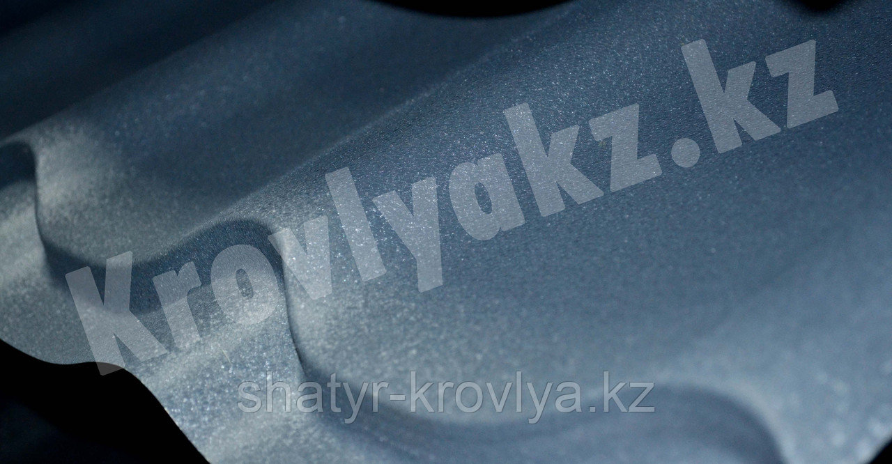 """Металлочерепица Монтеррей (полимерное покрытие"""" Sun matt"""") 7024 серый"""