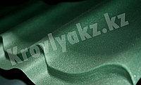 """Металлочерепица Монтеррей (полимерное покрытие"""" Sun matt"""") 6007 зеленый, фото 1"""
