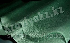 """Металлочерепица Монтеррей (полимерное покрытие"""" Sun matt"""") 6007 зеленый"""