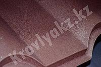 Металлочерепица Макси Дюна (Sun Matt) 8017 - шоколад, фото 1