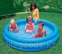 """Надувной детский бассейн """"Синий кристалл"""" 168х38 см, Intex 58446"""