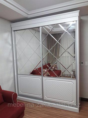 Зеркальные шкафы-купе с фацетом, фото 2
