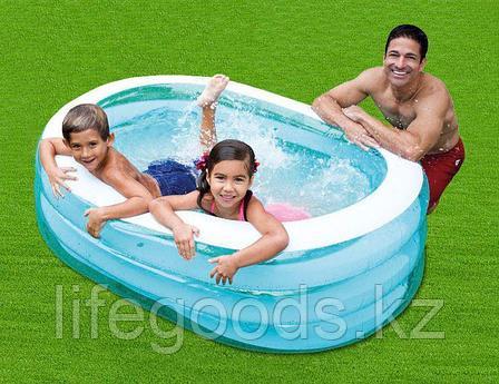 Детский надувной овальный бассейн 163х107х46 см, Intex 57482, фото 2