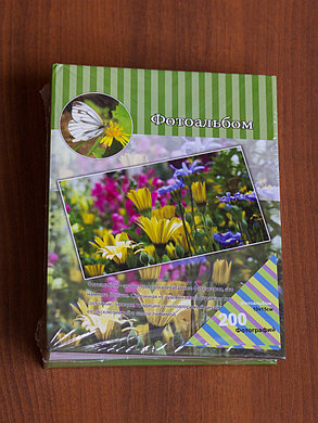 Фотоальбом 200 фото 10х15 (цветы), фото 2